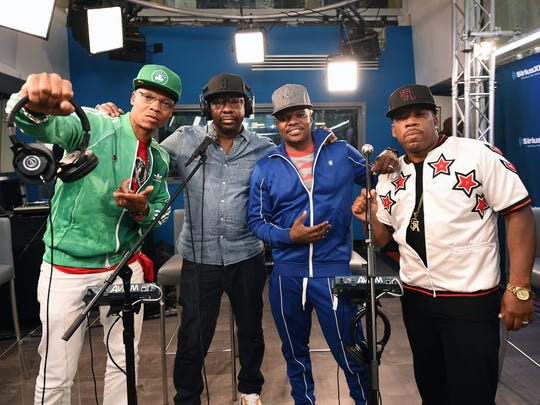 RBRM (from left, Ronnie DeVoe, Bobby Brown, Ricky Bell and Michael Bivins) will perform