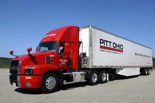 Ground transportation company PITT OHIO, on of Central Indiana's Top Workplaces for 2019, employs 156 dock workers, truck drivers, terminal staff and management at its Indianapolis location.