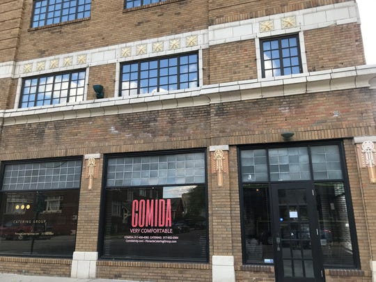 Comida serves Mexican fusion food like General Tso chicken tacos. The restaurant opened in February 2019 in downtown Indianapolis.