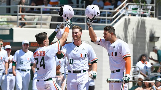 The Miami Hurricanes have hit 75 home runs this season, which is 15 more than Starkville Regional host Mississippi State.
