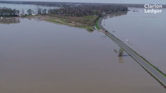 With an inundation of rain since February, the lower Delta continues to battle backwater flooding. Eagle Lake in Warren County remains under water.