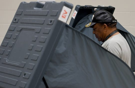 Nearly 900 people voted on the first day of early voting in the Jackson mayoral election Wednesday, May 29.