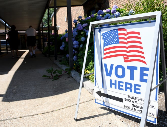 The first day of early voting in the city of Jackson Mayoral election, Wednesday, May 29.