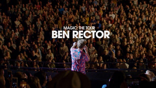 "Filmmaker Luke Menard followed Ben Rector on tour for part of 2018 and 2019 to make ""Magic: The Tour,"" a short documentary released May 13. Menard is a Purdue student and a Harrison High School graduate."