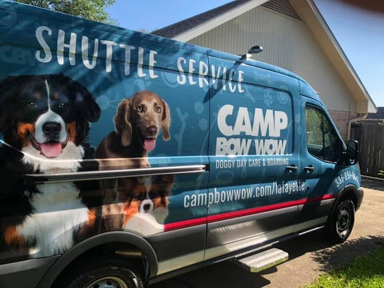 "New ""dog shuttle"" for Camp Bow Wow"