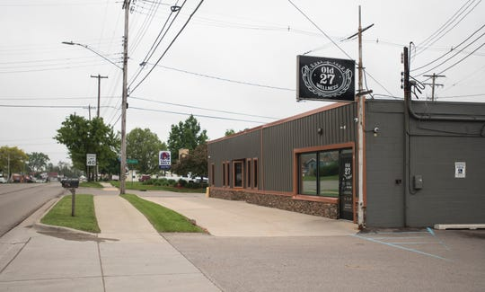 Old 27 Wellness on North East Street appears in a Lansing State Journal file photo. The medical marijuana dispensary is fully licensed and was open for business on Thursday, June 26, 2019.