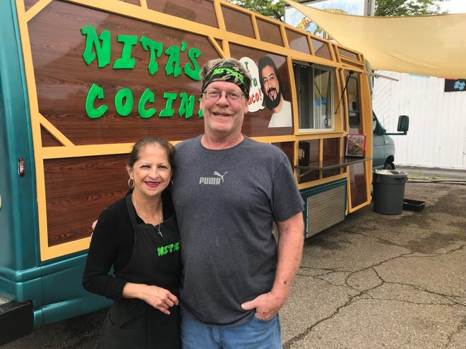 Ane and Dave Fedewa recently opened Nita's Cocina on Lansing's East Side.