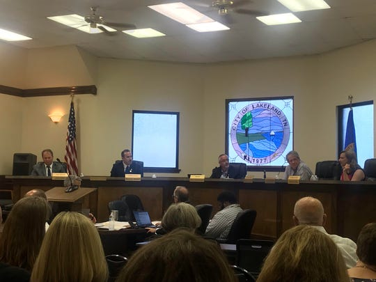 At least 50 community members of Lakeland met during a City Hall meeting on Tuesday, May 28, to discuss funding for a new high school in the city. A 64-cent tax increase was approved, but the tax rate could change if the city is approved for a USDA loan.