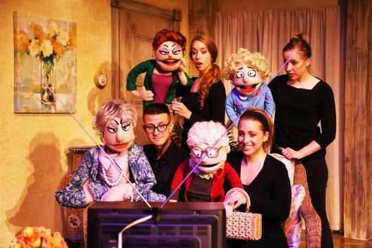 """That Golden Girls Show: a Puppet Parody"" plays the Halloran on March 28."