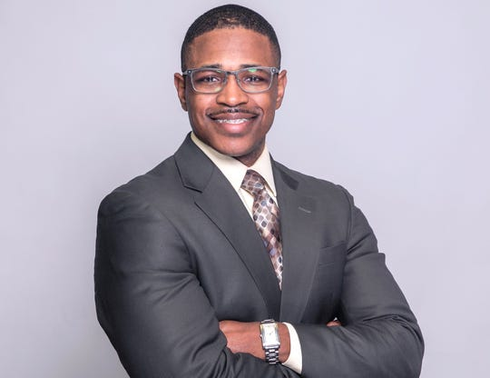 Michael Harris was elected chairman of the Shelby County Democratic Party in 2019.