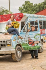 Jill and Keith Forrester are the couple behind Whitton Farms. Look for their brightly painted van at the Memphis Farmers Market.