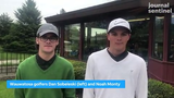 Wauwatosa's Dan Sobeleski and Noah Monty talk about advancing to the  WIAA state tournament.