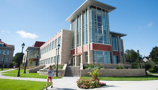 Carroll University's Hastad Hall has earned recognition from the U.S. Green Building Council Wisconsin for its environmentally friendly design. The facility, which opened in early 2018, houses the school's hallmark nursing program and other programs as well.