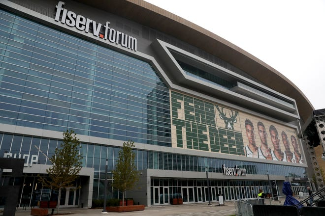Guided tours of Fiserv Forum are now available.