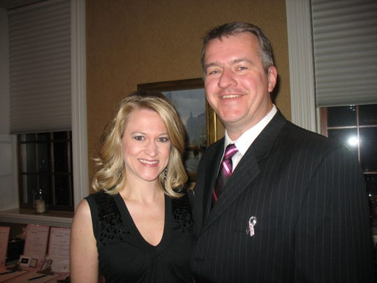 Steve Lyles, pictured with his wife, Kari, was the former publisher and senior sales director at Journal Community Publishing Group. Lyles, 50, died May 28.