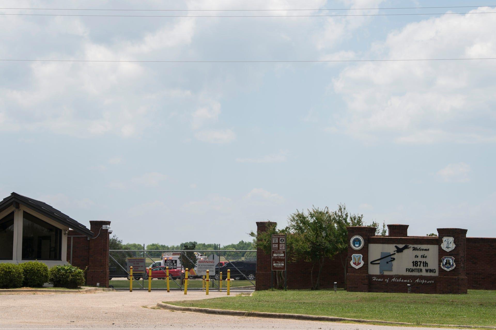 Chemical leak at Alabama Air National Guard