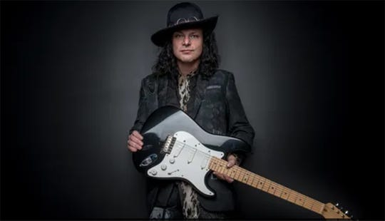 Blues rocker Anthony Gomes will perform Sunday at Capitol Oyster Bar in Montgomery.