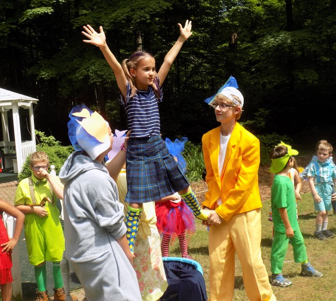 """Students at the Henry County YMCA theater camp performed """"Seussical the Musical"""" during last year's session."""