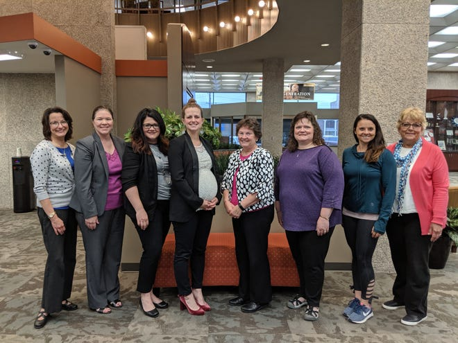 Muncie Altrusa Foundation board members pose as they close out their 2018-2019 year. The Muncie Altrusa Foundation is the charitable arm of Altrusa International of Muncie, IN Inc.