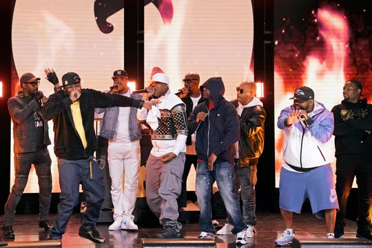 Wu-Tang Clan performs on 'The Tonight Show'