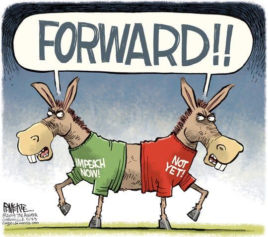 democrats differ on impeachment