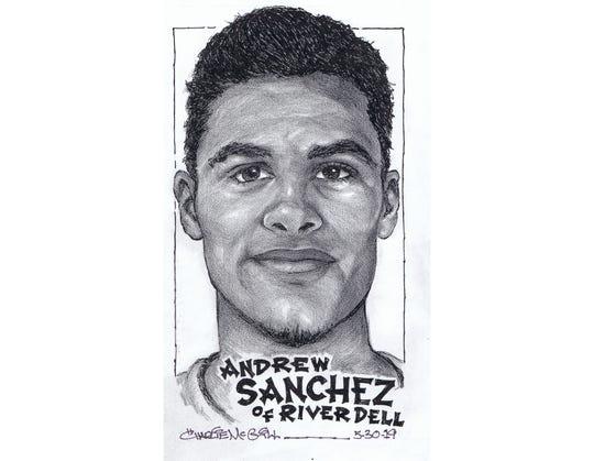 Andrew Sanchez, River Dell track & fiel