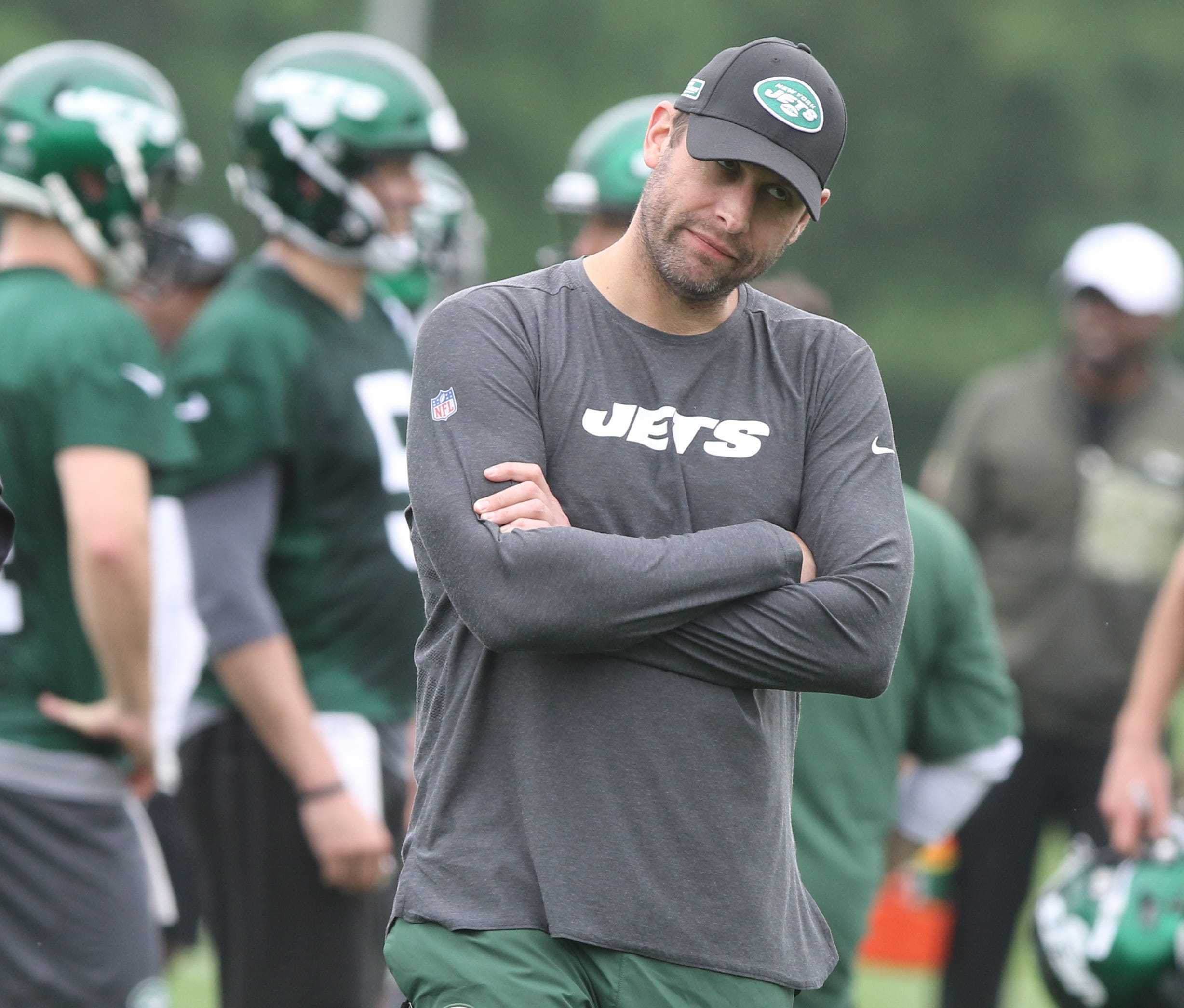 Adam Gase gives timetable for Jets GM hire; Sam Darnold, offense struggles in practice