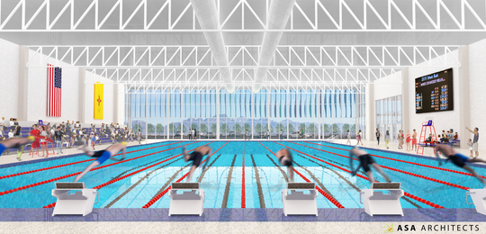 Firm release images of new Las Cruces competition pool