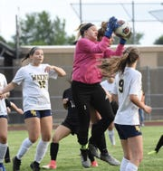 Wayne keeper Sara Hoch was spectacular in a losing cause Tuesday night.