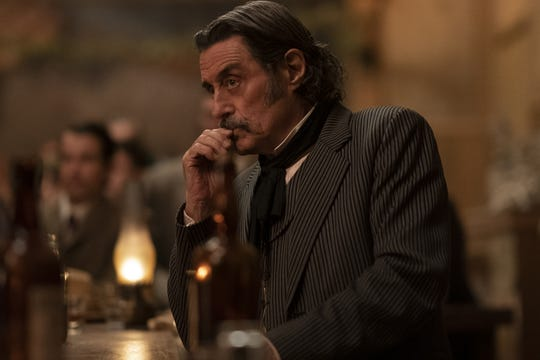 "Ian McShane stars in ""Deadwood: The Movie."""