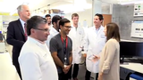 Sen. Martha McSally took a tour of the University of Arizona Cancer Center in Phoenix on May 29, 2019. McSally was briefed about ongoing research.
