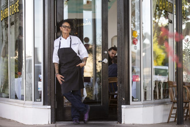 Chef Silvana Salcido Esparza poses for a portrait on Saturday, April 27, 2019, at Barrio Cafe Gran Reserva in Phoenix.