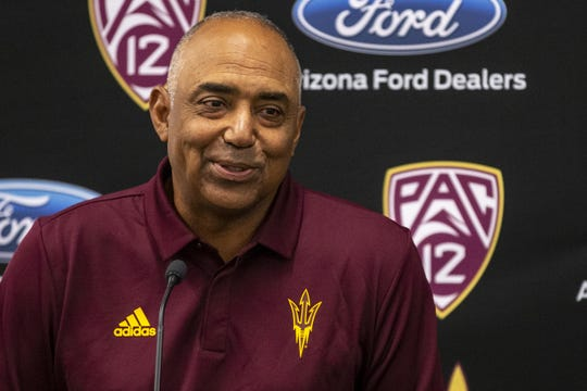 Marvin Lewis is eager to help the ASU football program.