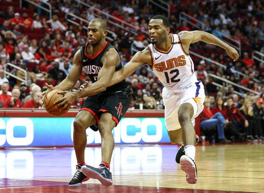 How would Chris Paul look in a Phoenix Suns uniform?