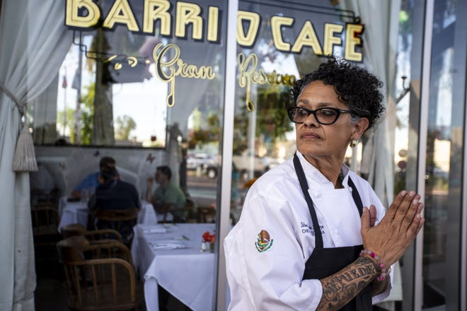 Chef Silvana Salcido Esparza poses for a portrait on Saturday, April 27, 2019, at Barrio Cafe Gran Reserva in Phoenix.