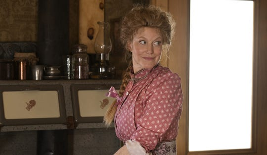 "Anna Gunn stars in ""Deadwood: The Movie."""
