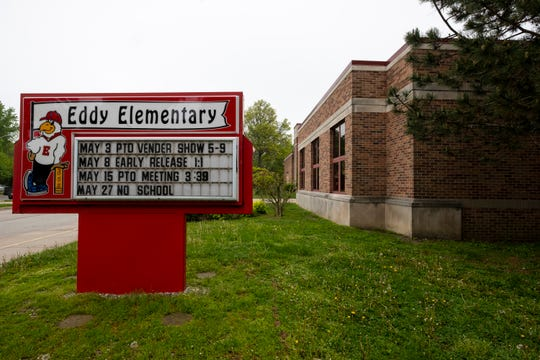 The East China Board of Education voted unanimously to close Eddy Elementary at a special meeting held Tuesday evening. The school will be closed at the end of the year.