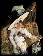 "Lilly Gorski and Jeff Gilbert star in ""My Fair Lady,"" playing June 14-23 at The Belmont Theatre."