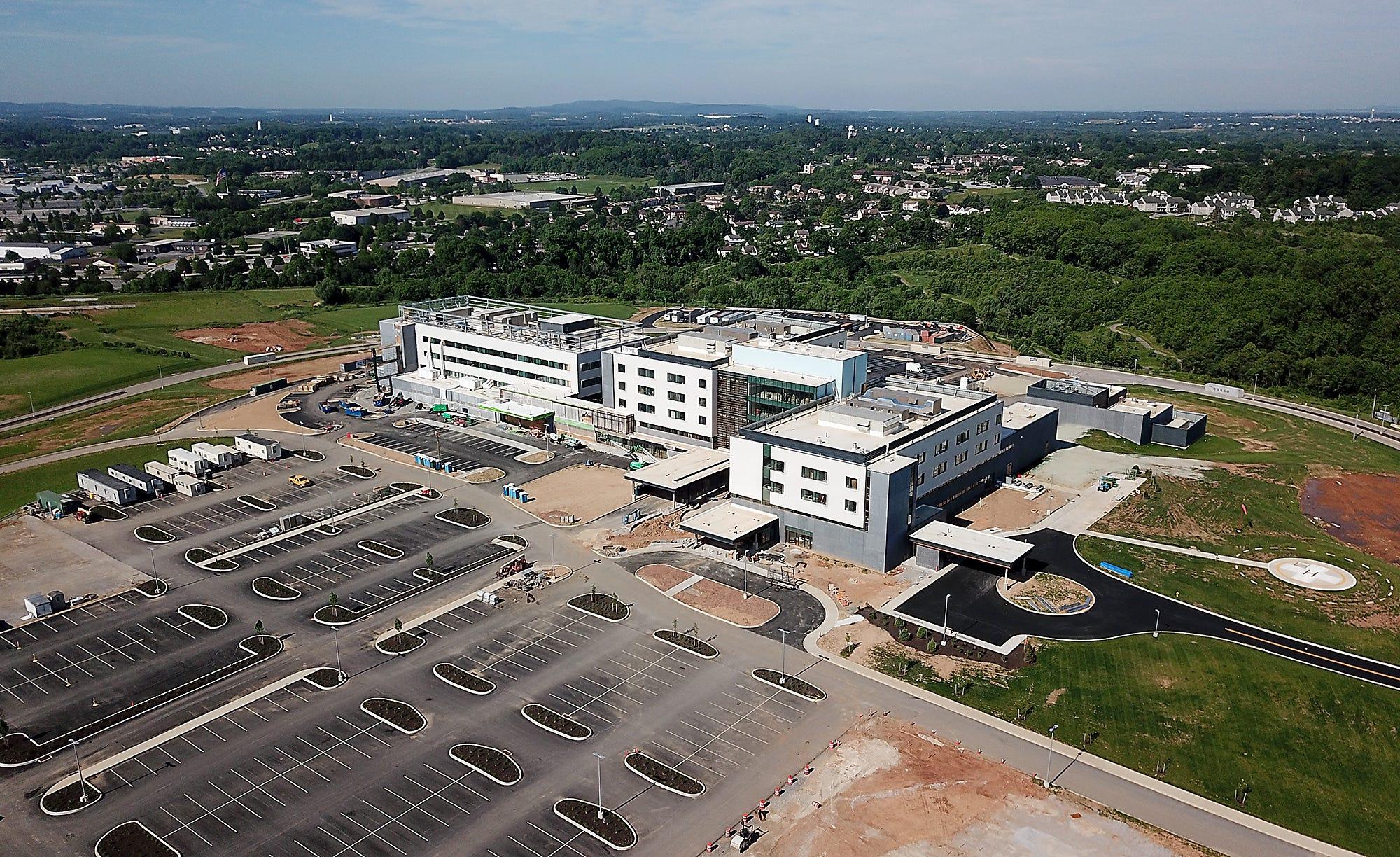VIDEO: UPMC Memorial Hospital construction