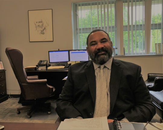 York City Supt. Dr. Eric Holmes has kept the sketch of former slave Frederick Douglass with him since he was an assistant principal. After 32 years with the schools, he's retiring in a few weeks, ready to take on a new challenge, even though he hasn't decided what that will be. What he knows is that it will involve education.