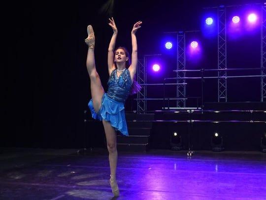 """Nora Clemente perform in """"Vortex."""""""