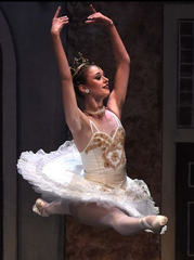 "Kathleen Martin performs in ""Coppelia."""
