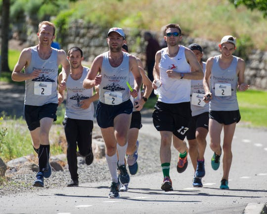 Prominence Health Plan finished second during the Reno Tahoe Odyssey in Reno on June 2 , 2018