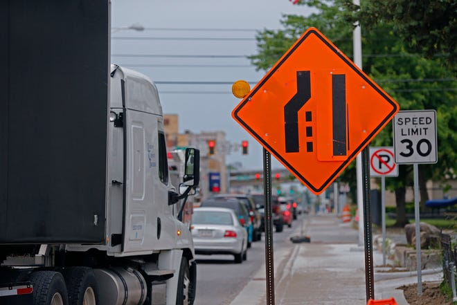 If bad weather doesn't get in the way, INDOT expects to have all lanes of U.S. 27 and U.S. 40 in downtown Richmond back open by the middle of June.