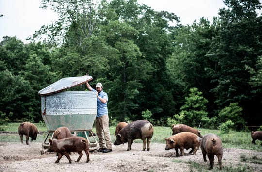 Evan McCommon of Mahaffey Farms will be honored at FEAST!