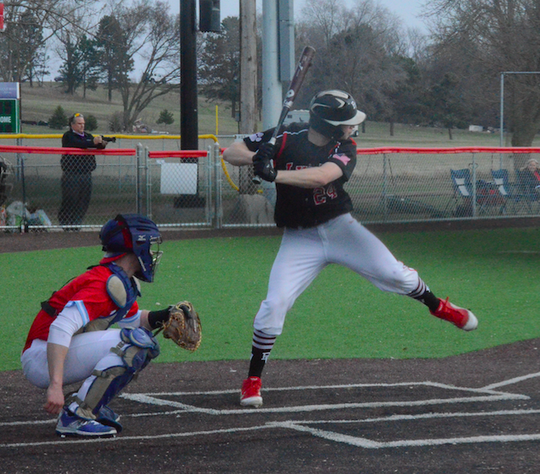 Connor Knecht hit .325 for the Lynx during the 2019 high school season. He hopes to continue swinging a hot bat for the Legion season.