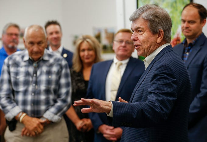 Senator Roy Blunt visited Vital Farms in Springfield to talk about job growth and the strength of the economy on Wednesday, May 29, 2019.