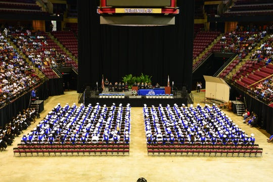 The Godby High School Class of 2019 participated in the annual commencement ceremony at the Donald L. Tucker Civic Center on Tuesday, May 28th.