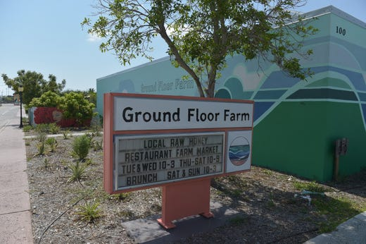 Ground Floor Farm, at 100 Southeast Martin Luther King Boulevard in Stuart, is closed for the summer. The farm is partnering with CoLab Farms for renovations and will reopen in the fall.