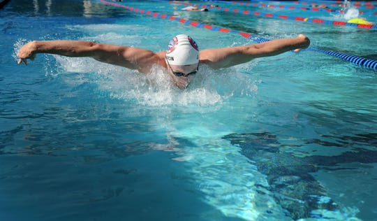Jeremy Marcin made the most of his final year at Westlake High, swimming to back-to-back Marmonte League individual titles, earning two top-4 placements at the CIF-SS Division 2 championships and qualifying for the state meet.